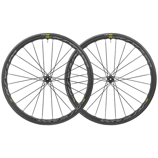 Mavic Ksyrium UST 28mm 6 Bolt Disc Wheelset 2019