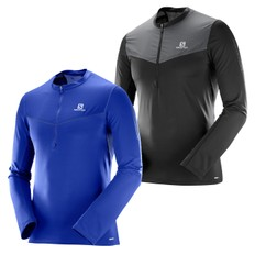 Salomon Fast Wing Half Zip Long Sleeve Run Top