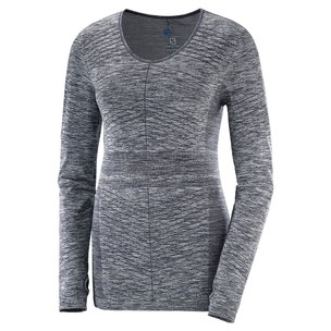 Salomon Elevate Move'On Womens Long Sleeve Run Top