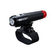 Cateye Volt 400 Duplex Front and Rear Helmet Light