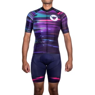 Black Sheep Cycling Chaos Collection 2.0 Block Bib Short