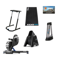 Wahoo Pain Cave Superstar KICKR Turbo Trainer Zwift Bundle