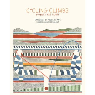 Claire Beaumont Cycling Climbs: Twenty Art Prints - Book