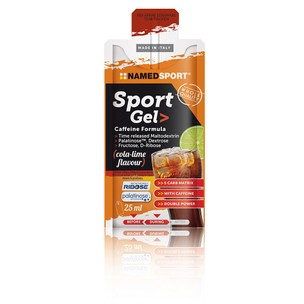 NAMEDSPORT Sports Gel Caffeine Formula Box Of 15 X 25ml