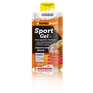 NAMEDSPORT Sports Gel Glucogenetic Formula Box Of 15 X 25ml