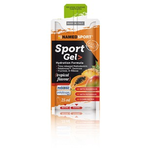 NAMEDSPORT Sports Gel Hydration Formula Box 15 X 25ml