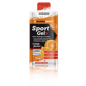 NAMEDSPORT Sports Gel Pure Energy Box Of 15 X 25ml