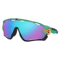 Oakley Jawbreaker Splatterfade Sunglasses with Prizm Sapphire Lens
