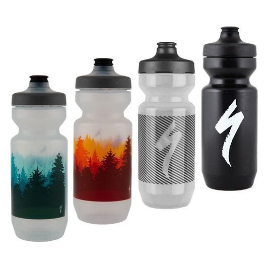*** 2-Pack *** Black Purist 22 oz Water Bottle by Specialized Bikes
