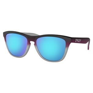 Oakley Frogskins Splatterfade Sunglasses With Prizm Sapphire Lens