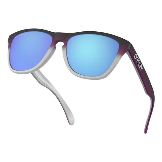 af3a546b4c3 Oakley Frogskins Splatterfade Sunglasses with Prizm Sapphire Lens ...