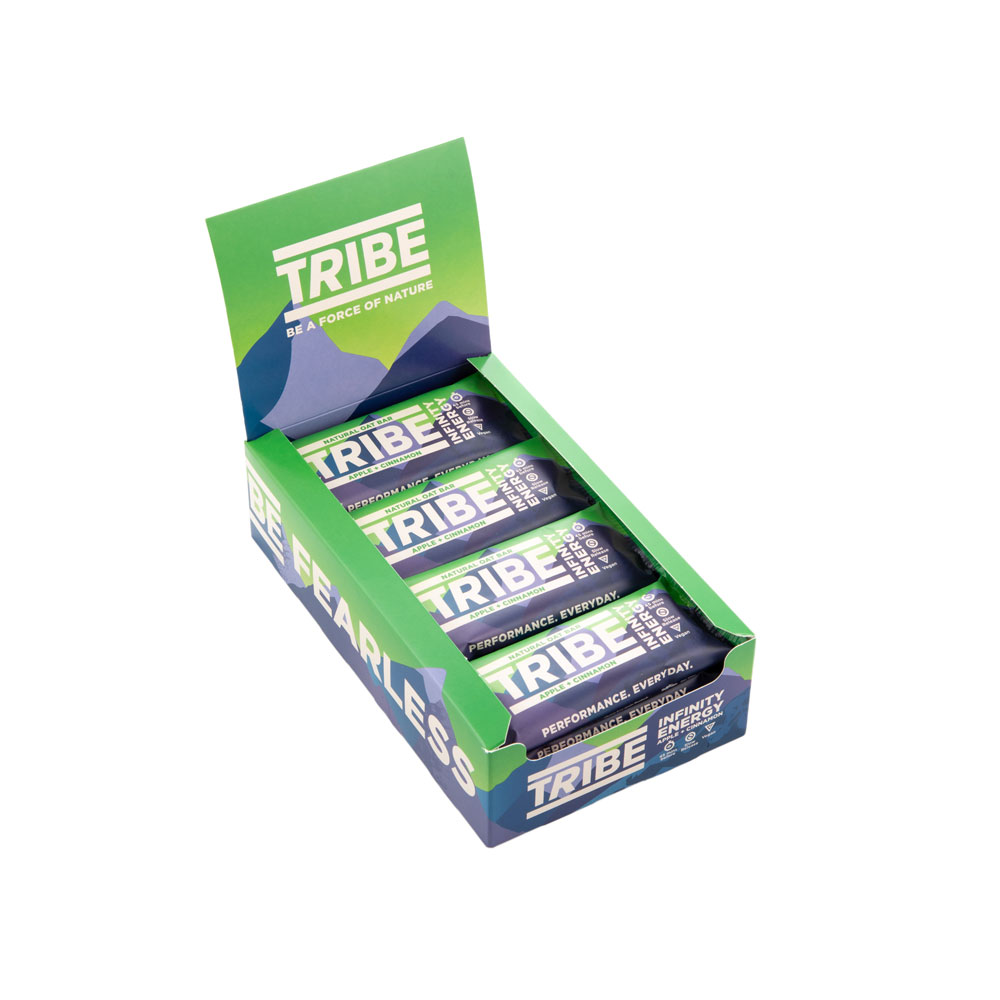 Tribe Infinity Bar Box Of 16 X 58g