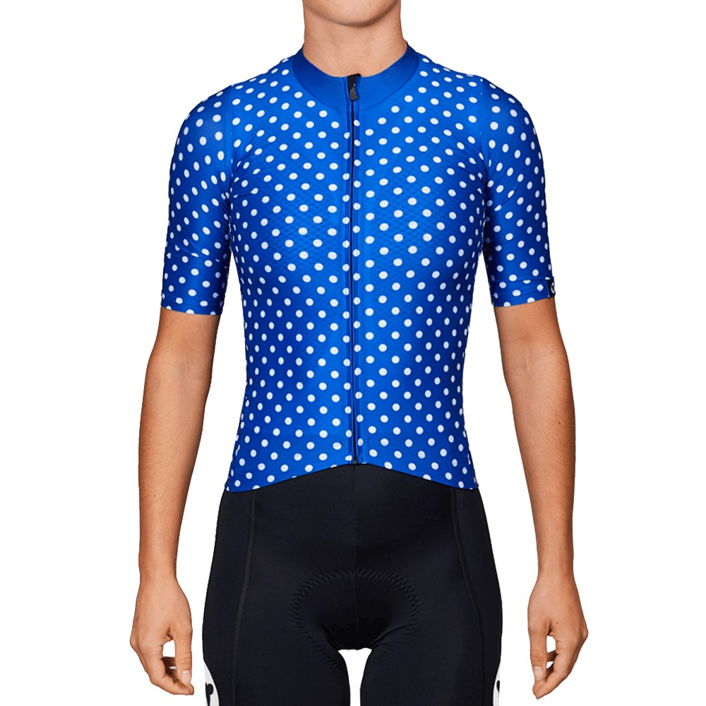 Black Sheep Cycling Team Collection 19 Dots Womens Short Sleeve Jersey
