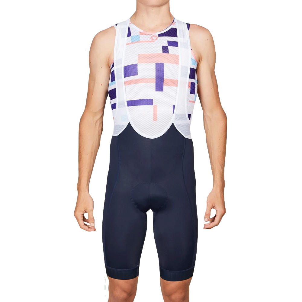 Black Sheep Cycling Team Collection 19 Stripe Sleeveless Summer Base Layer