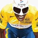 Hitting The Wall Kings Of Le Tour - Indurain Print