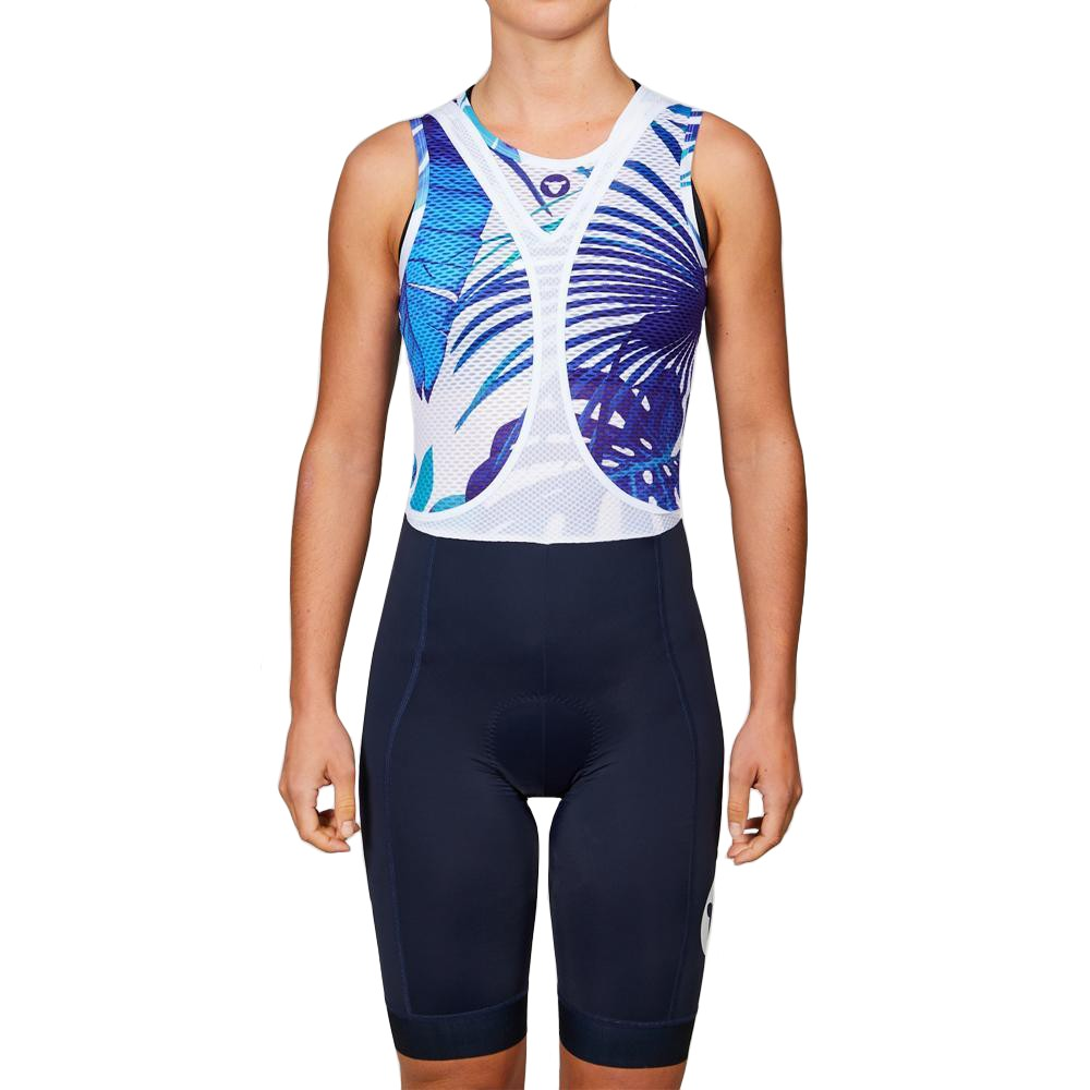 Black Sheep Cycling Team Collection 19 Floral Womens Sleeveless Base Layer
