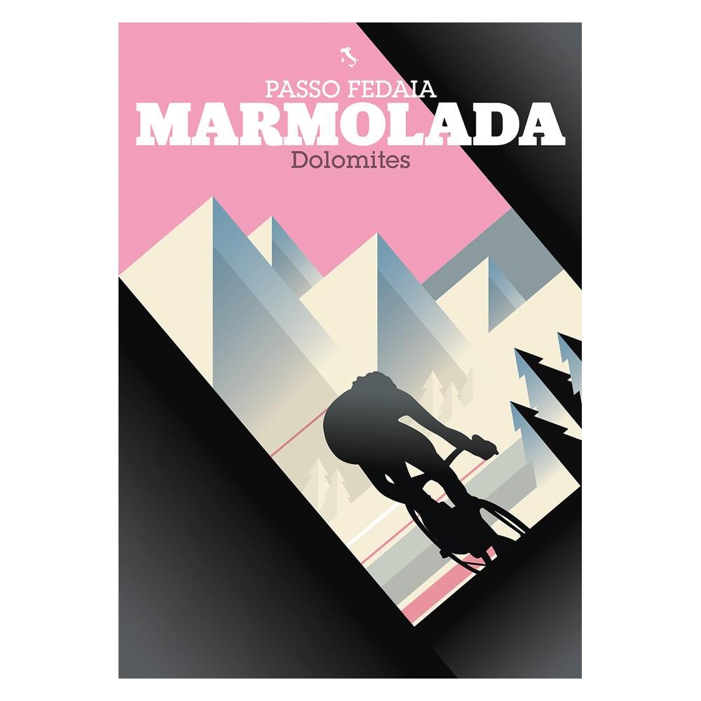 Hitting The Wall Marmolada Print