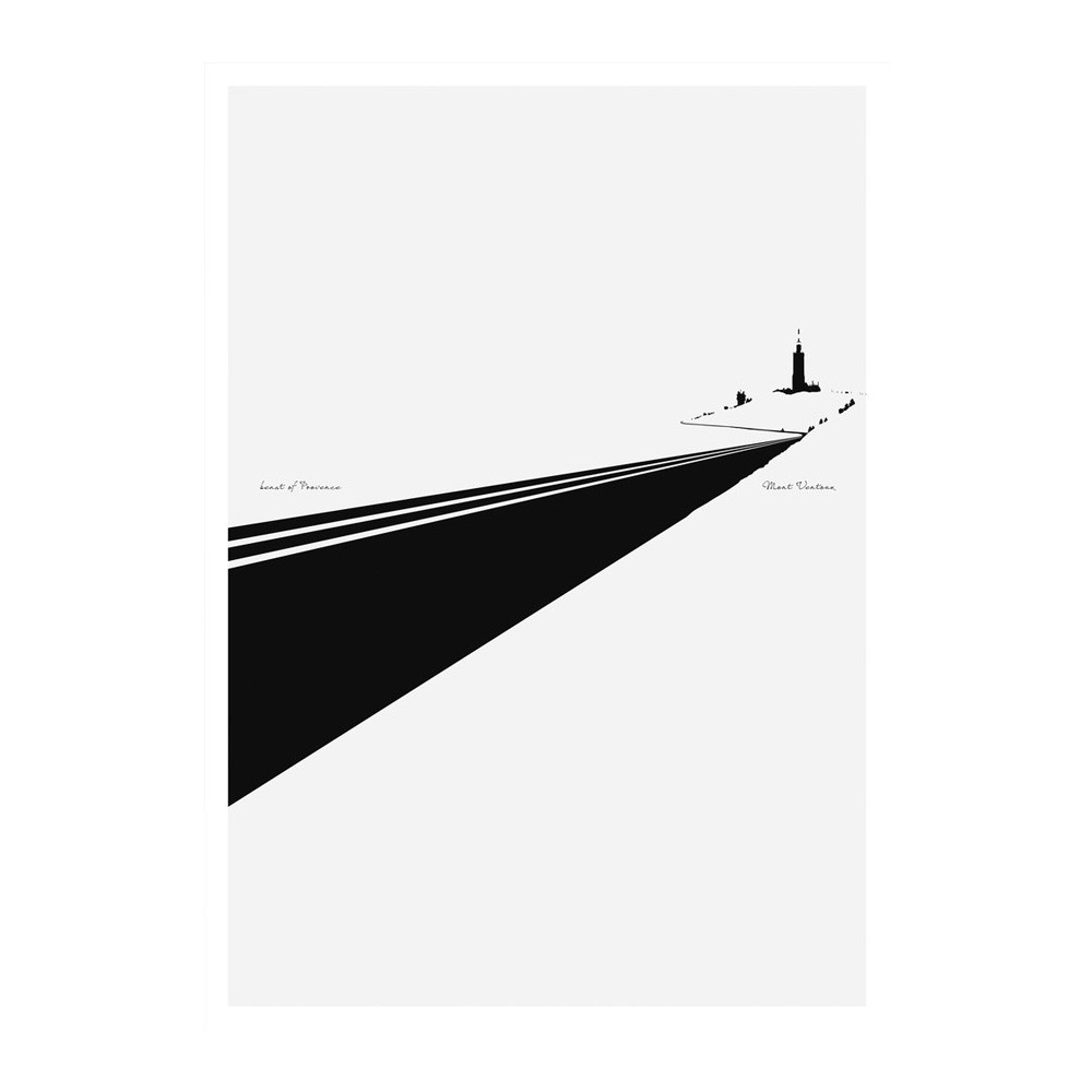 Hitting The Wall Beast Of Provence | Ventoux Print