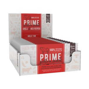 Prime Bar Natural British Beef Protein Box Of 12 X 50g