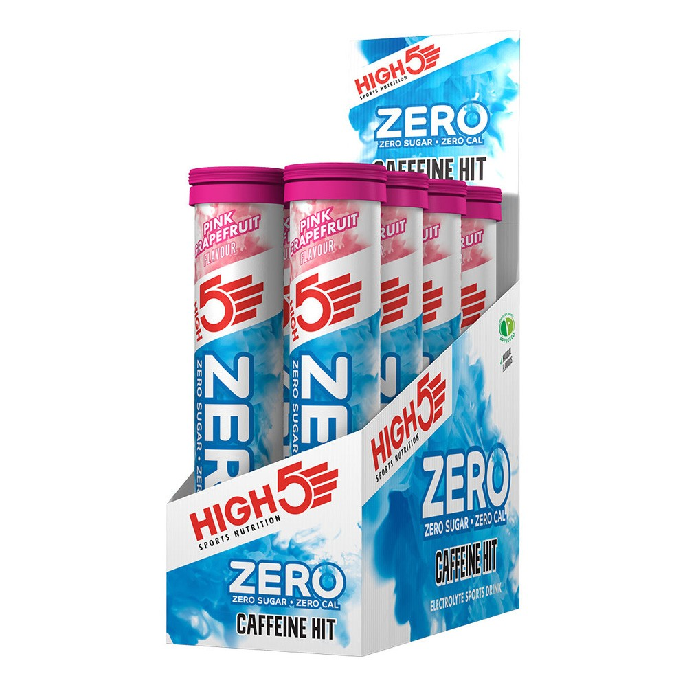 High5 Zero Caffeine Hit Electrolyte Tablets - 8 X Tubes Of 20