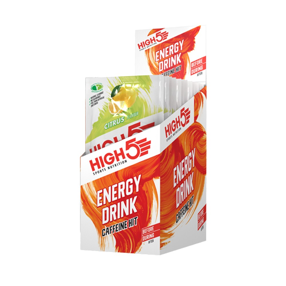 High5 Energy Drink Caffeine Hit Sachet Box Of 12 X 47g