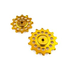 Kogel Shimano Road 12/14T Pulleys - Midas Touch Gold