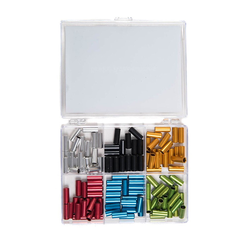 VEL Anodized Sealed Cable Ferrules Kit 4mm