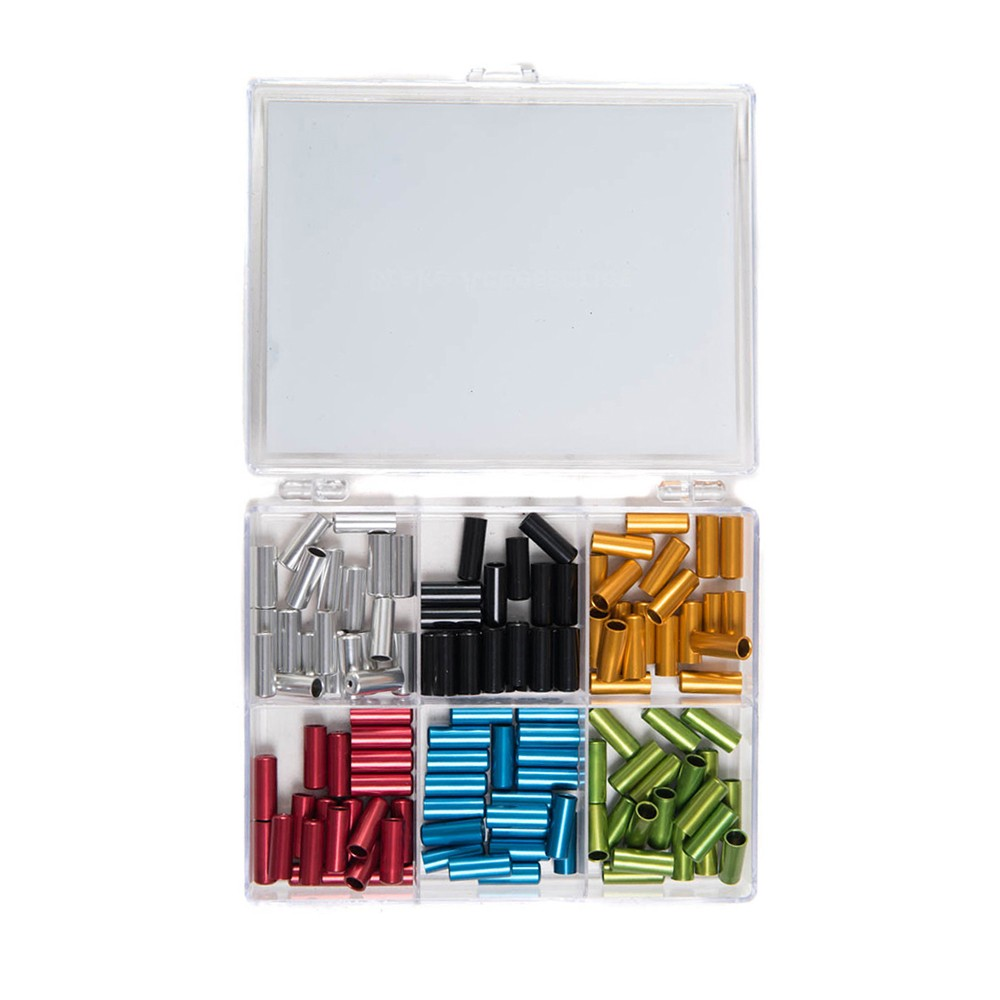 VEL Anodized Sealed Cable Ferrules Kit 5mm