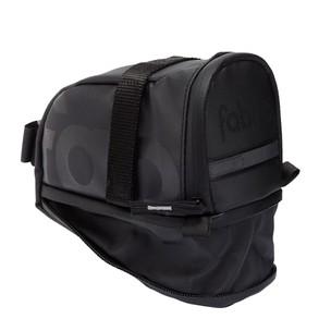 Fabric Contain Saddle Bag Large