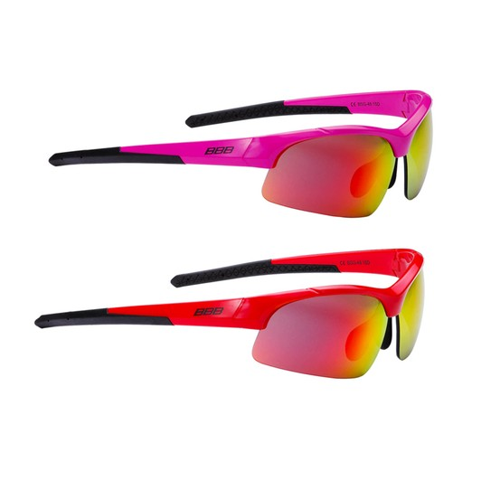 9798b817952 BBB BSG-48 Impress Small Fit Sunglasses With Red Lens ...