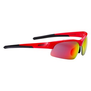 BBB BSG-48 Impress Small Fit Sunglasses With Red Lens