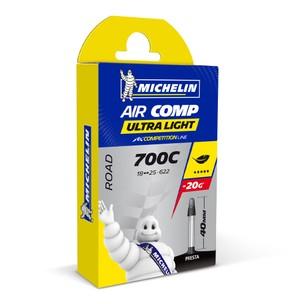 Michelin Aircomp Ultralight Inner Tube 18-25mm Presta
