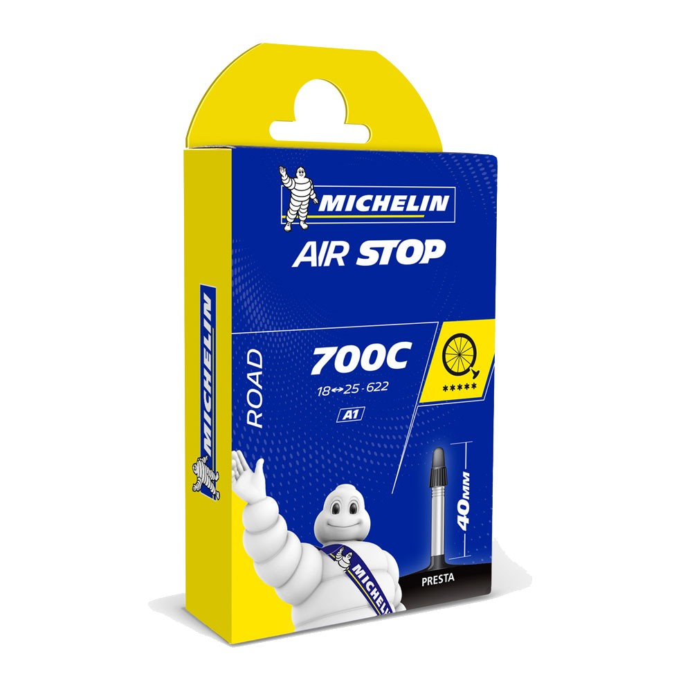 Michelin Airstop Inner Tube 18-25mm Presta