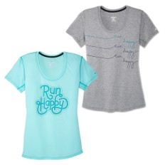 Brooks Distance Graphic Womens Run Top