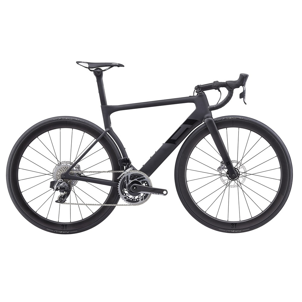 3T Cycling Strada DUE TEAM SRAM RED AXS 12-Speed Disc Road Bike 2019