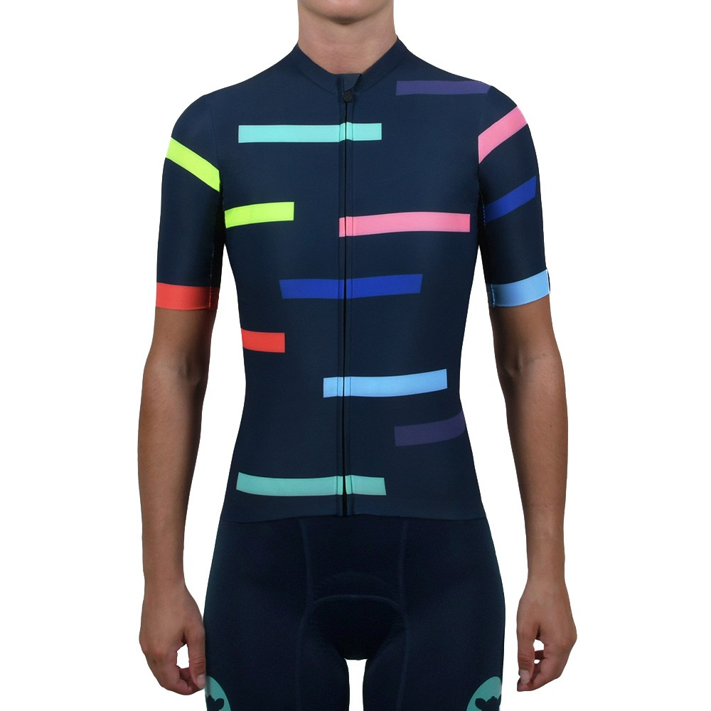 Black Sheep Cycling WMN Static Lines Short Sleeve Jersey