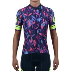 Black Sheep Cycling WMN Floral Pink Short Sleeve Jersey