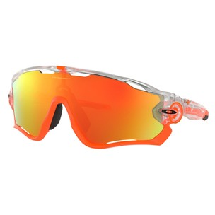 Oakley Jawbreaker Sunglasses With Crystal Pop Fire Iridium Lens
