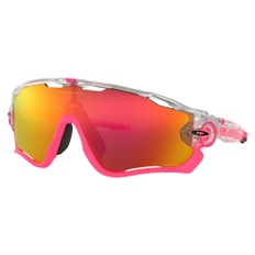 Oakley Jawbreaker Crystal Pop Sunglasses with Prizm Ruby Lens
