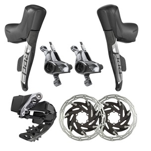 SRAM RED ETap AXS 1X Electronic Post Mount HRD Groupset