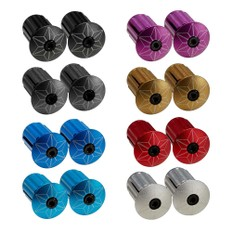 Supacaz Star Plugz Anodised Bar End Plugs