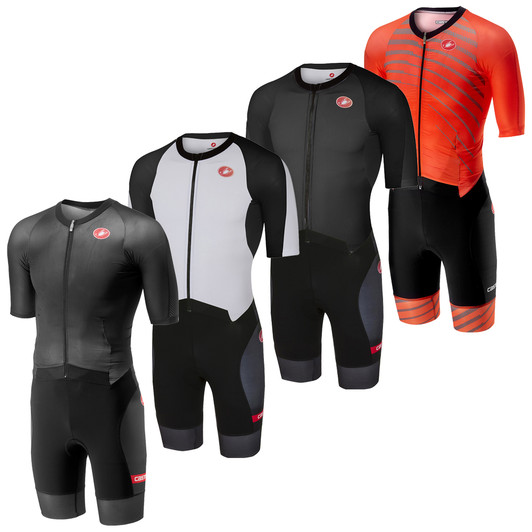 Castelli All Out Speed Short Sleeve Trisuit ... a10d1fd70