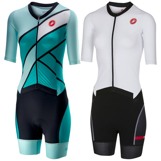 Castelli All Out Speed Womens Short Sleeve Trisuit ... 42ea7ae72