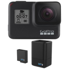 GoPro HERO7 Black Action Camera SD Card and Battery Charger Bundle