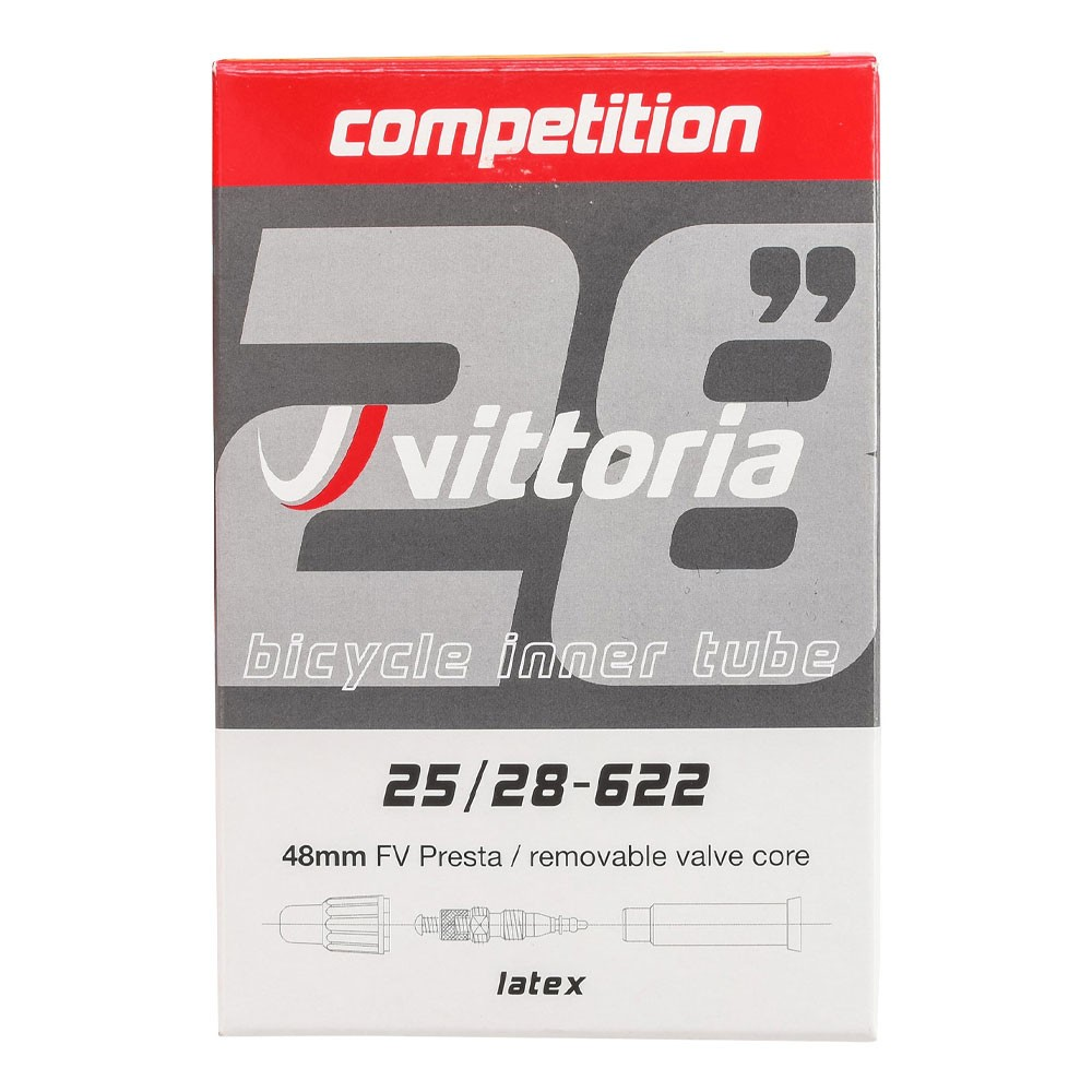 Vittoria Competition Latex Presta RVC 48mm Inner Tube