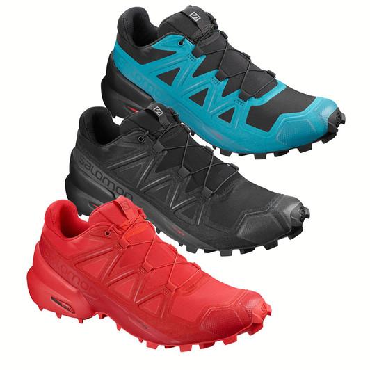 bas prix 67999 77ea1 Salomon Speedcross 5 Trail Running Shoes