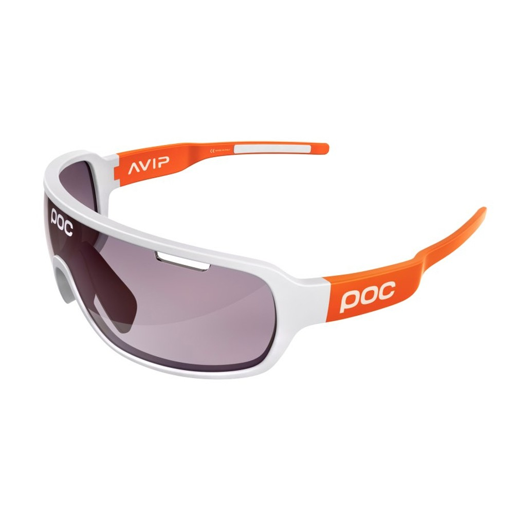 POC DO Blade Clarity AVIP Sunglasses With Violet/Light Silver Mirror Lens