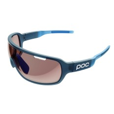 POC DO Blade Clarity Sunglasses with Brown/Light Silver Mirror Lens