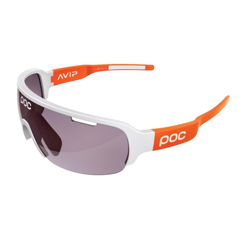 POC DO Half Blade AVIP Sunglasses With Violet/Light Silver Mirror Lens