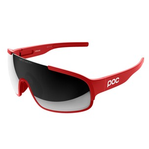 POC Crave Sunglasses With Violet/Silver Mirror Lens
